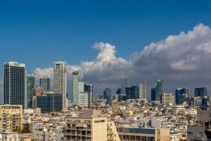 צילום עיר מהגובה